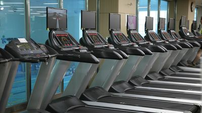 Running Machines in a Gym